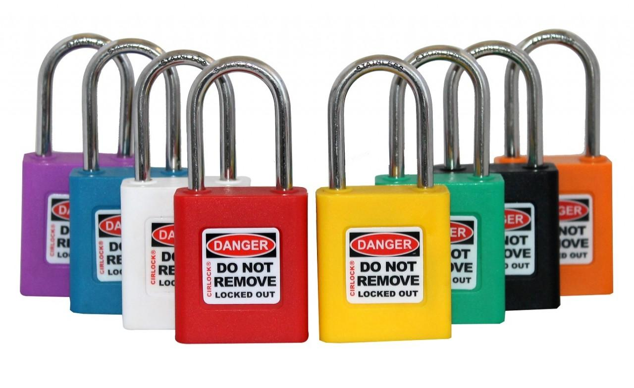 Safety Lockout Padlocks SLP-438 Series