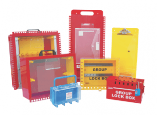 Group lock boxes of all sizes